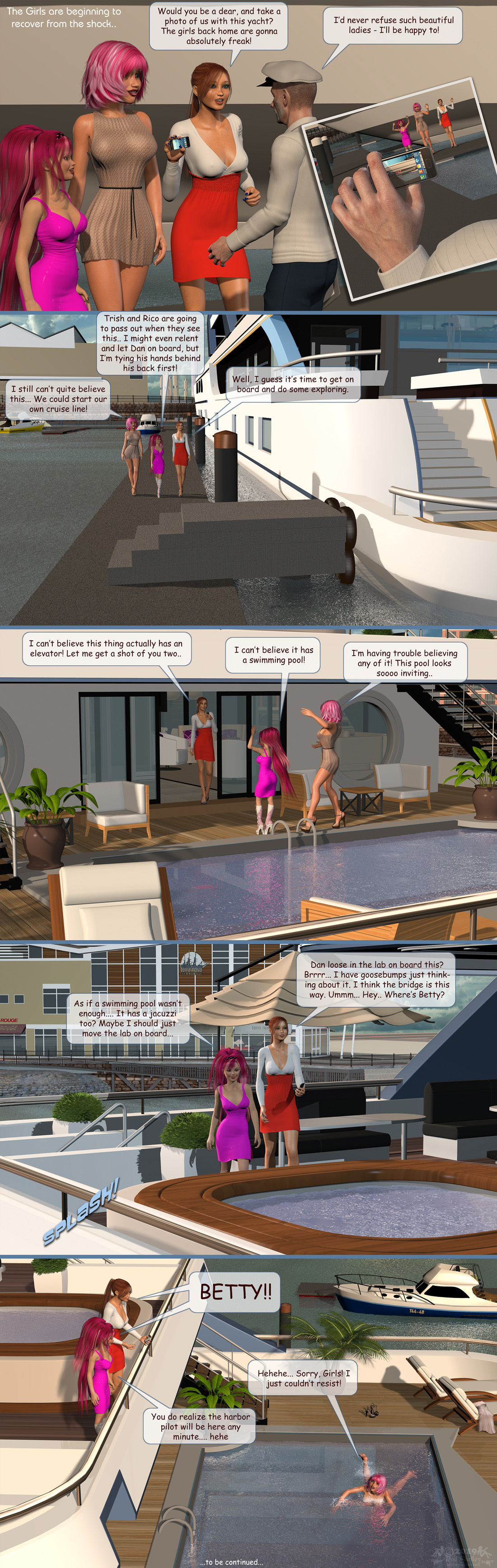 Girls From T.N.A: Breitlenger Jar: Ch 6 Page 35