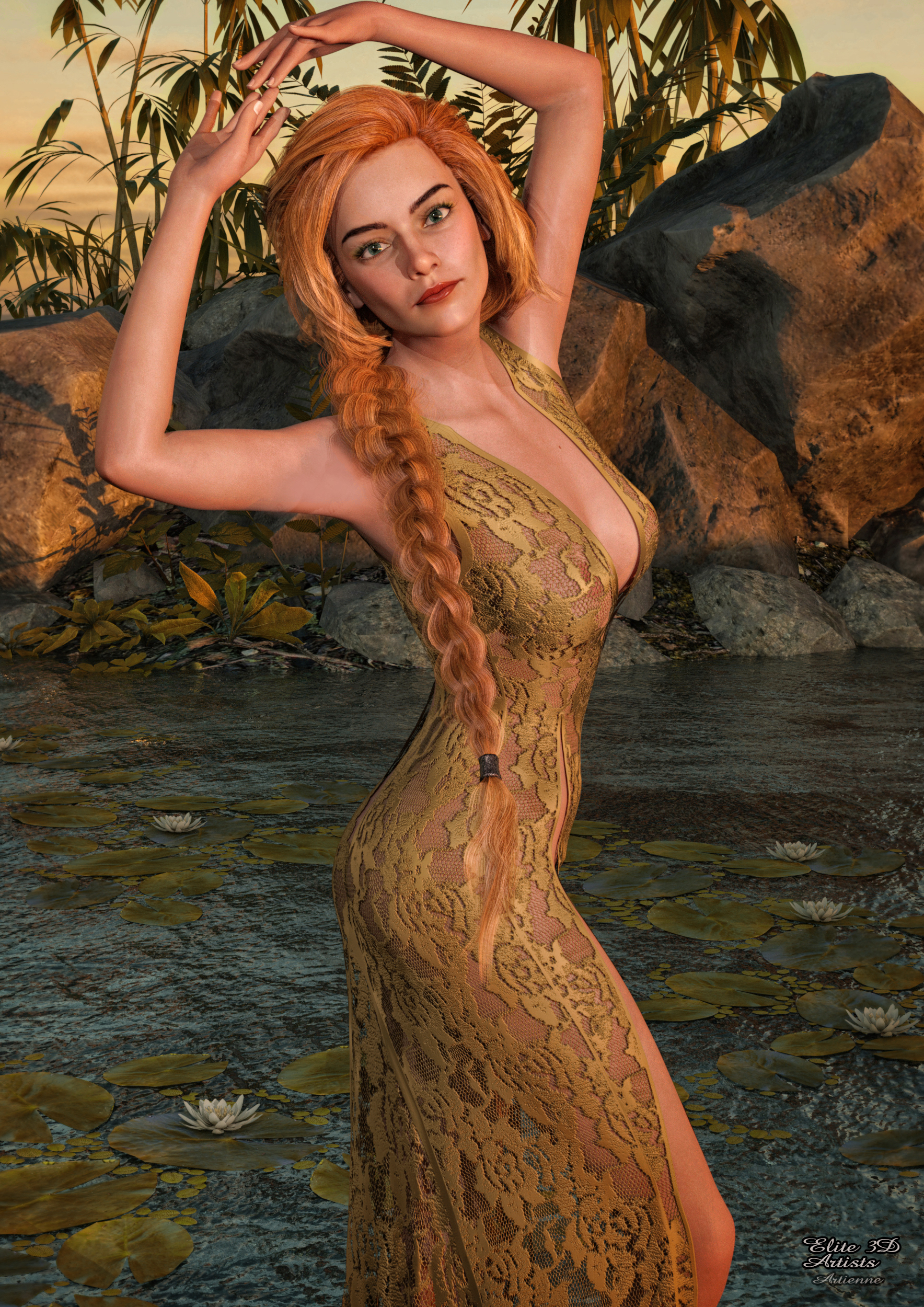 Versus Slowburn dress textures Expansion II