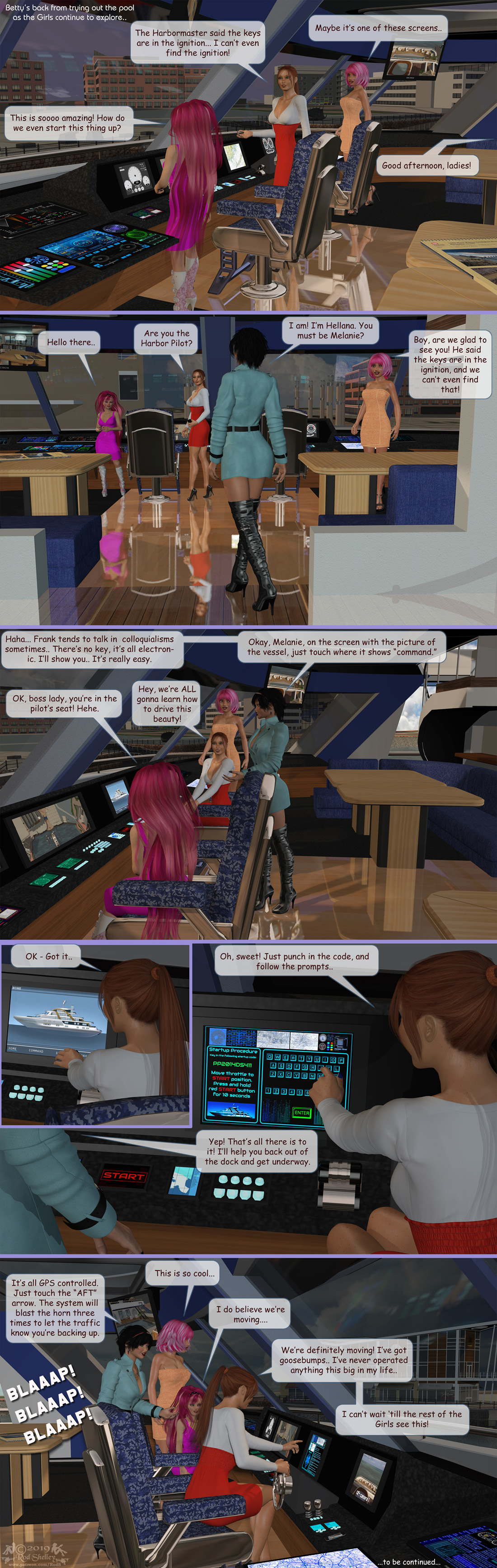 Girls From T.N.A: Breitlenger Jar: Ch 6 Page 36