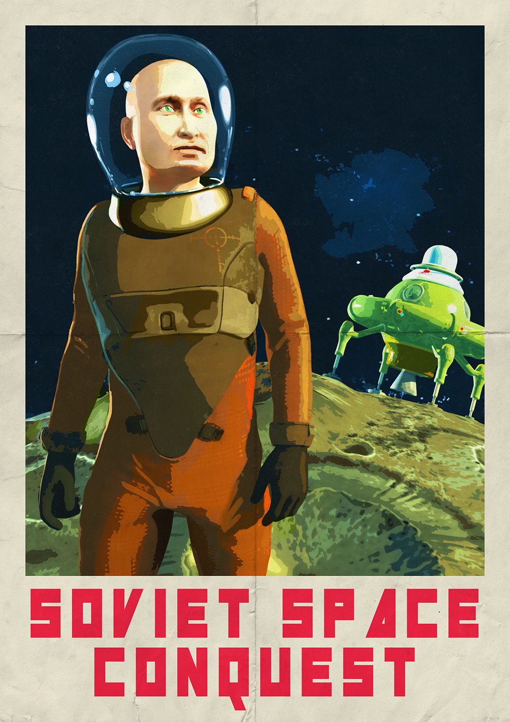 Soviet Space Conquest - The Putin Chronicles