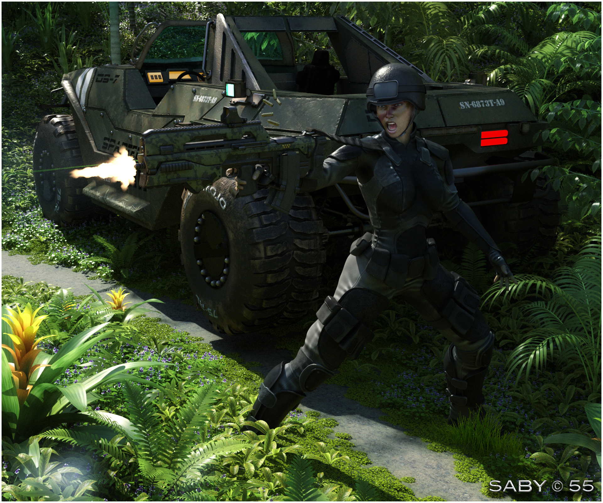 Assault in the jungle