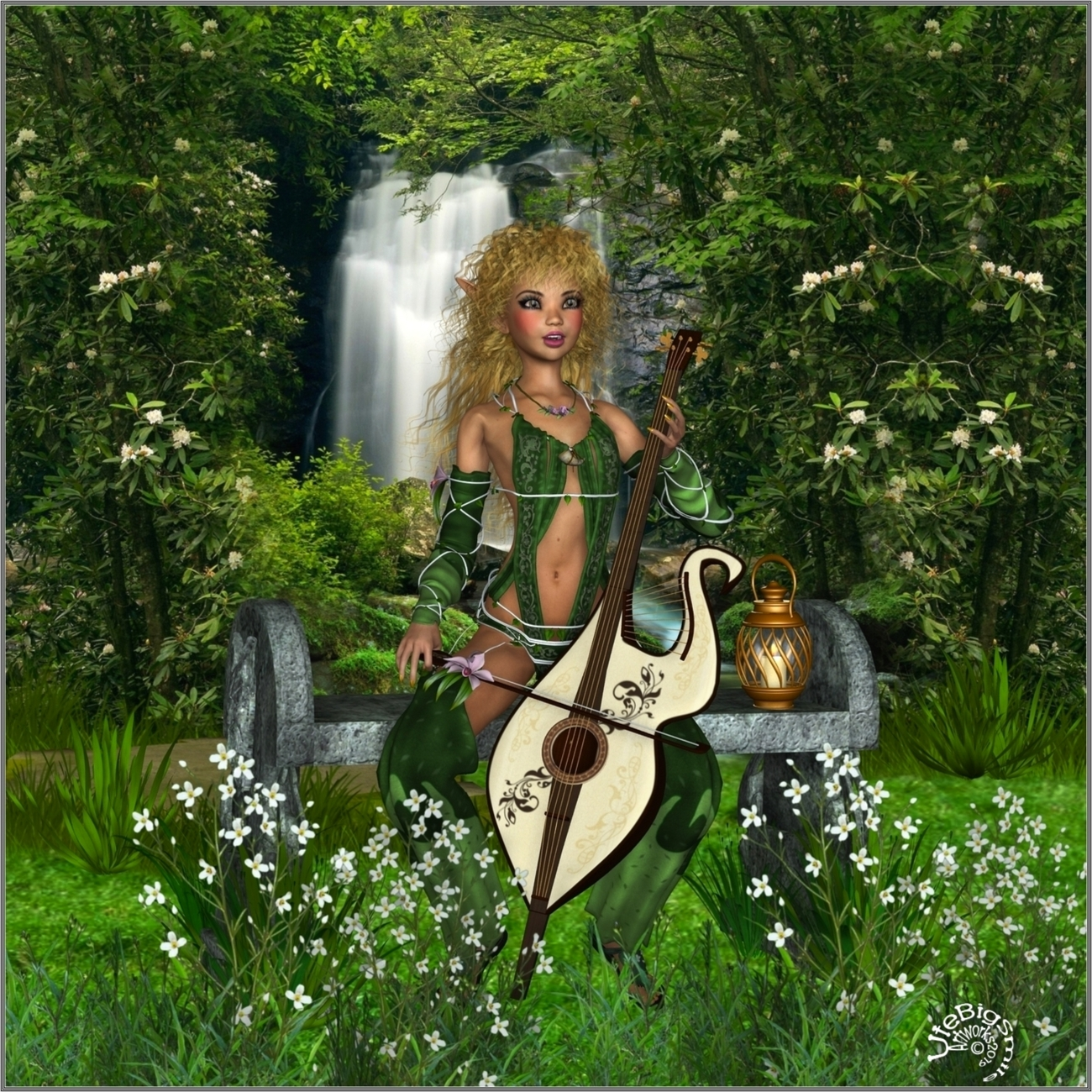 ☼ Alena the little forest Nymph ☼