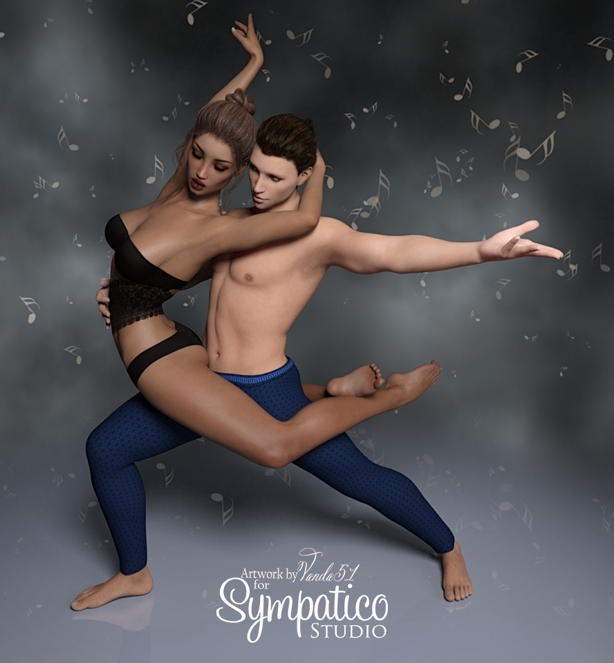 Dance Romance - Poses for G3 and G8 M-F
