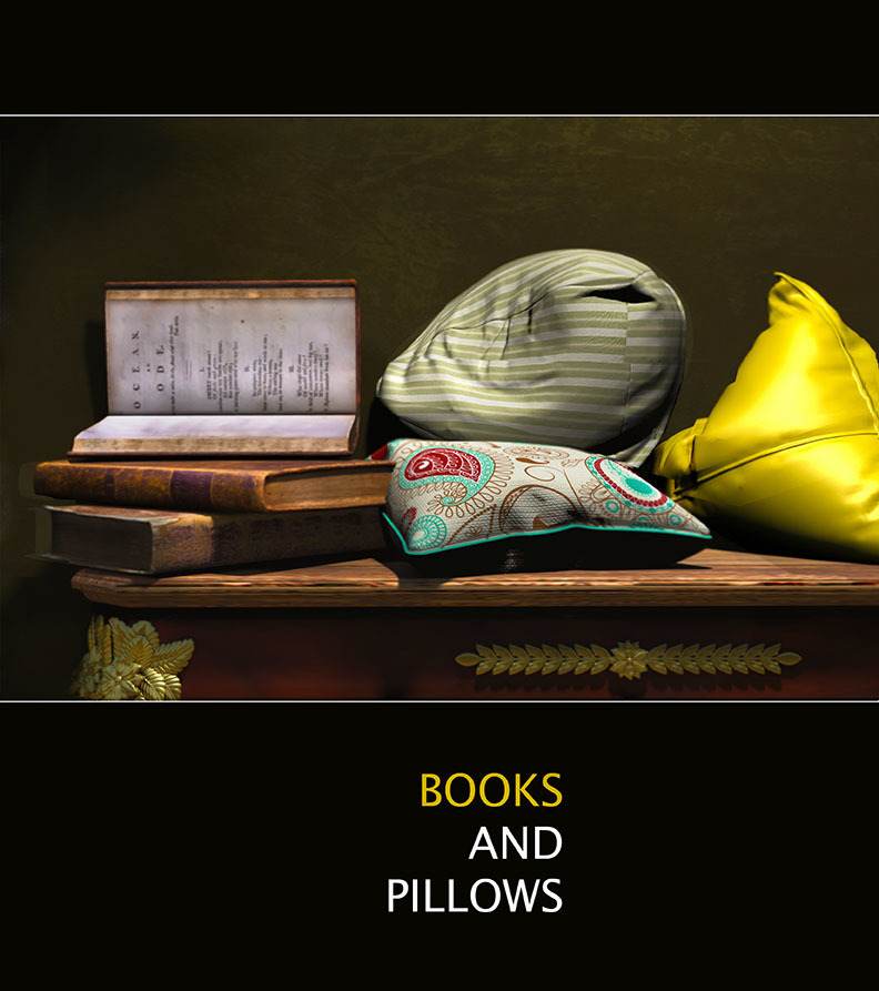 Books and Pillows