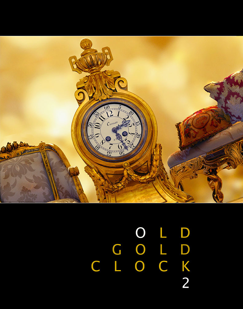 Old Gold Clock 2