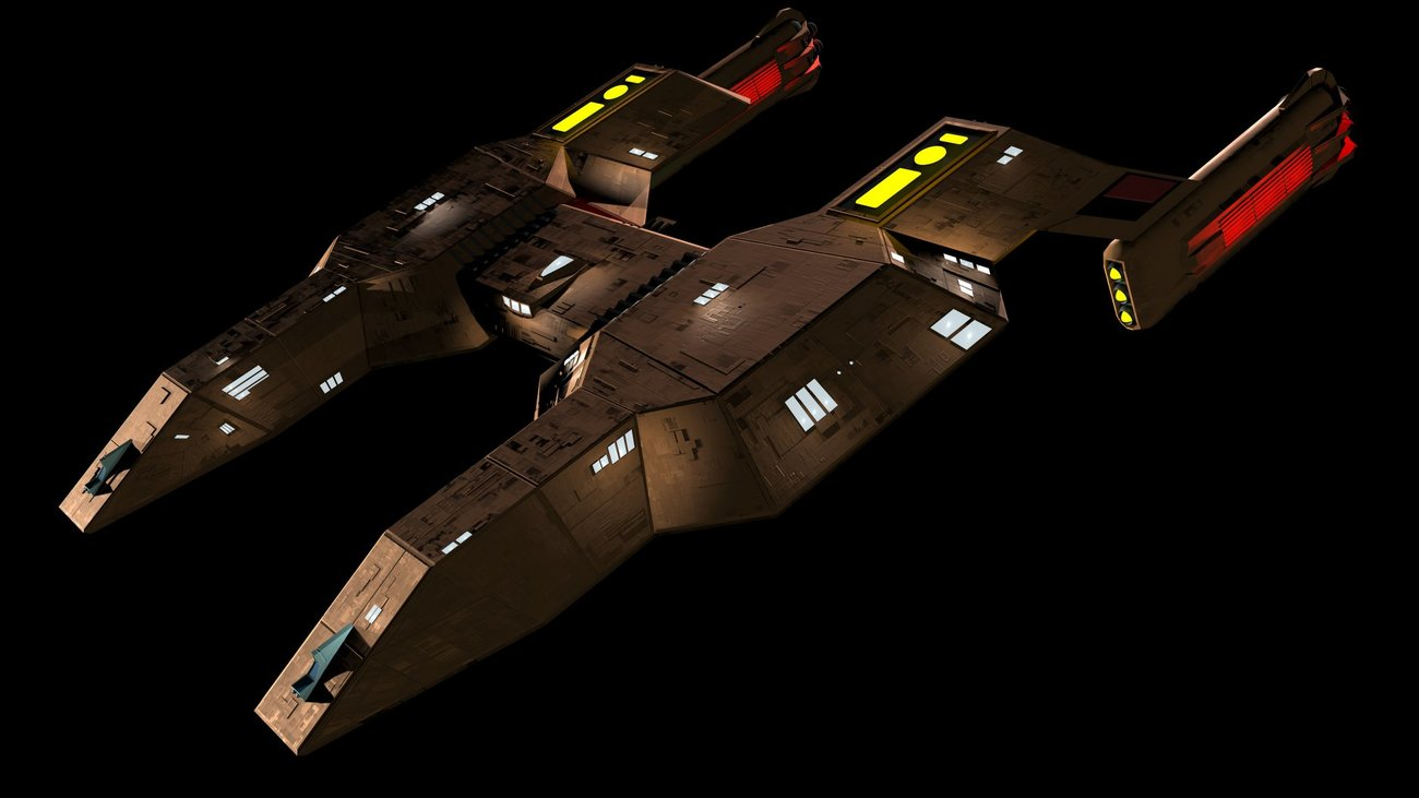 Another view of the Lyran Heavy Cruiser by Raymar3d