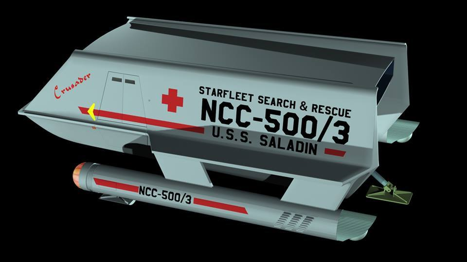 Shuttlecraft Crusader, a medical shuttle