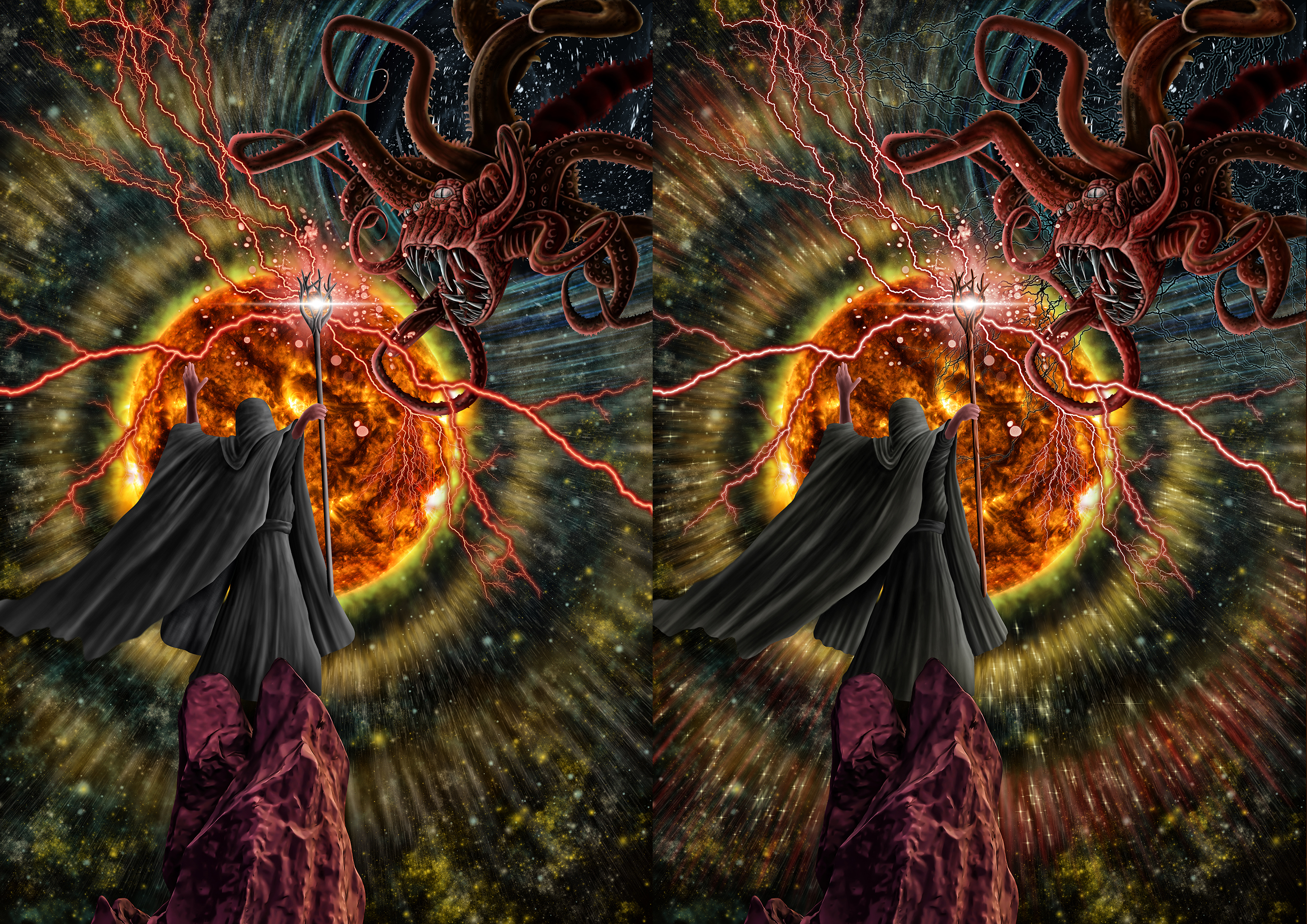 Wizard Tor Paint Stage 06 (Comparison)