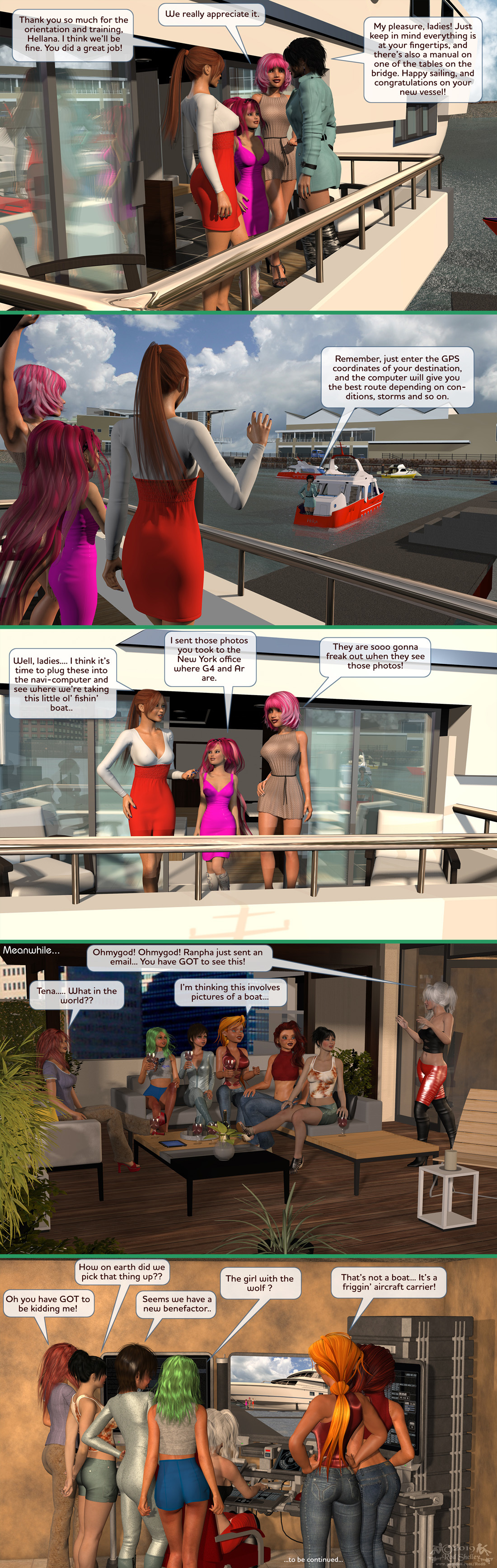 Girls From T.N.A: Breitlenger Jar: Ch 6 Page 37