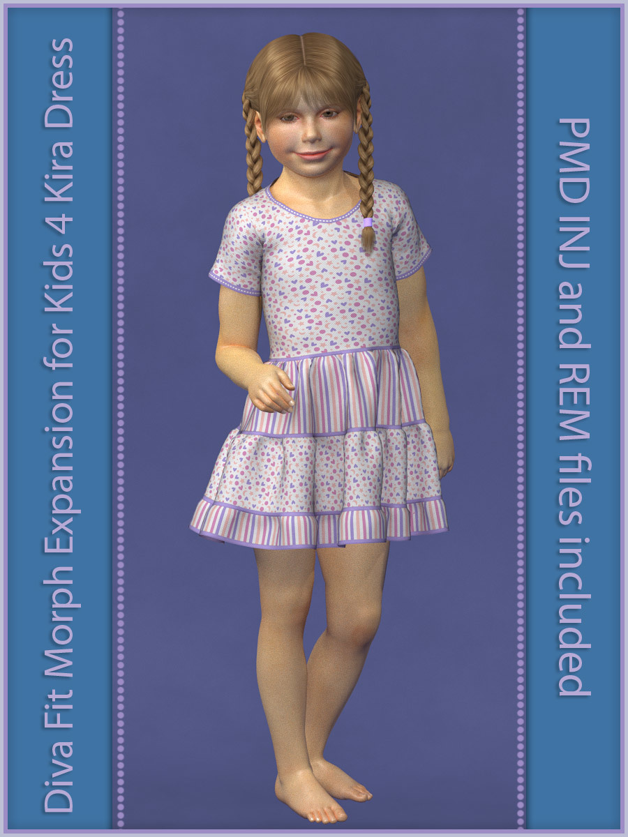 K4 Kira Dress - Diva Fit Morph Expansion