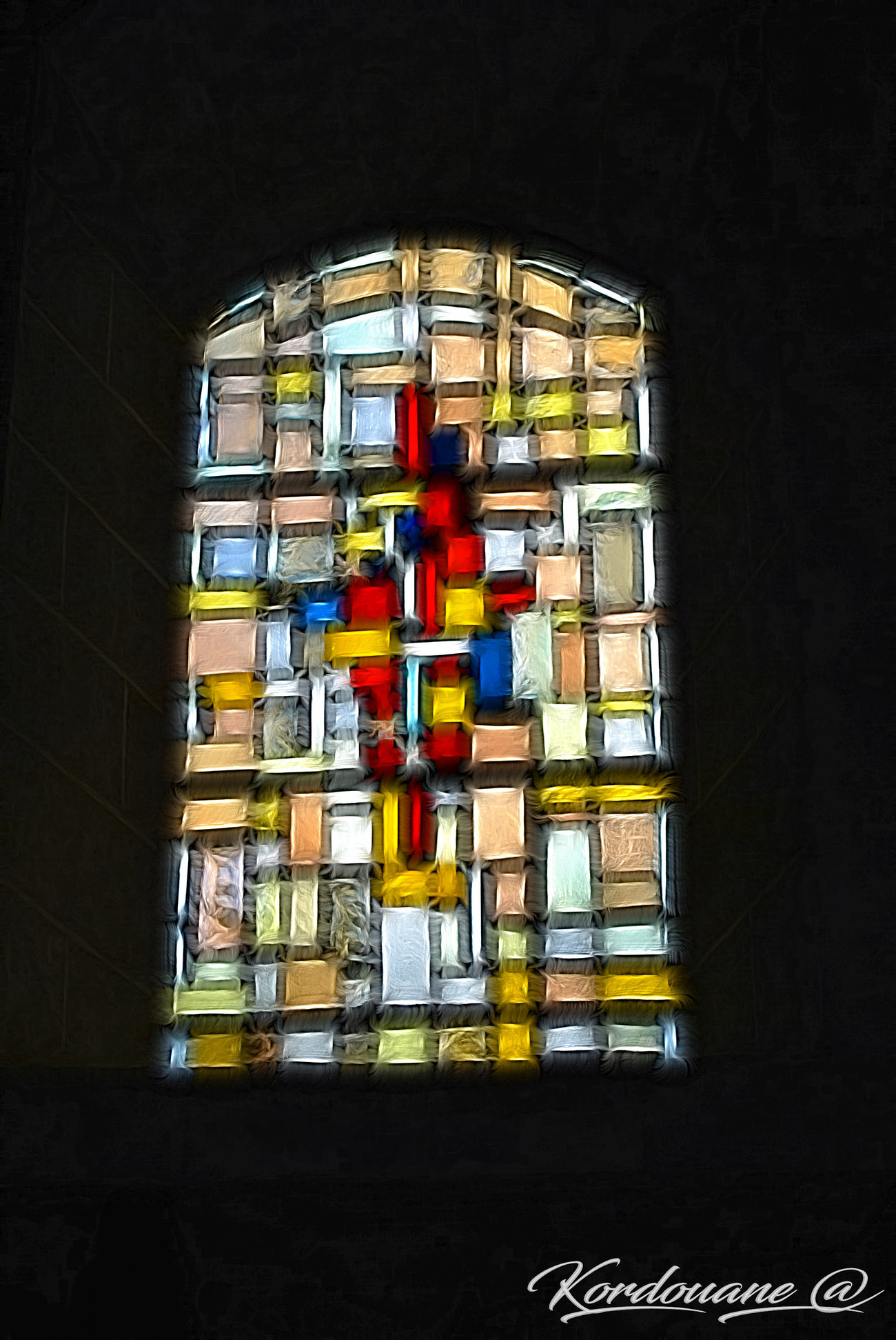 Vitrail - Stained glass window