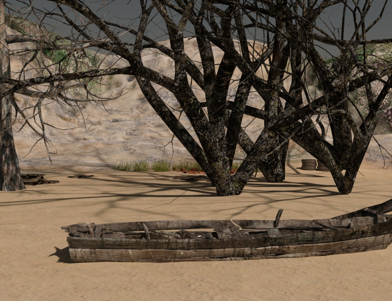 Old Lake bed by LutherD