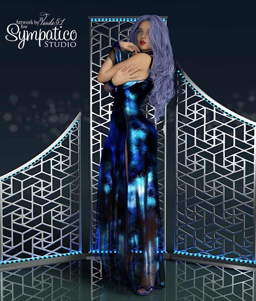 VERSUS - Flounce dForce dress for G8F by Anagord