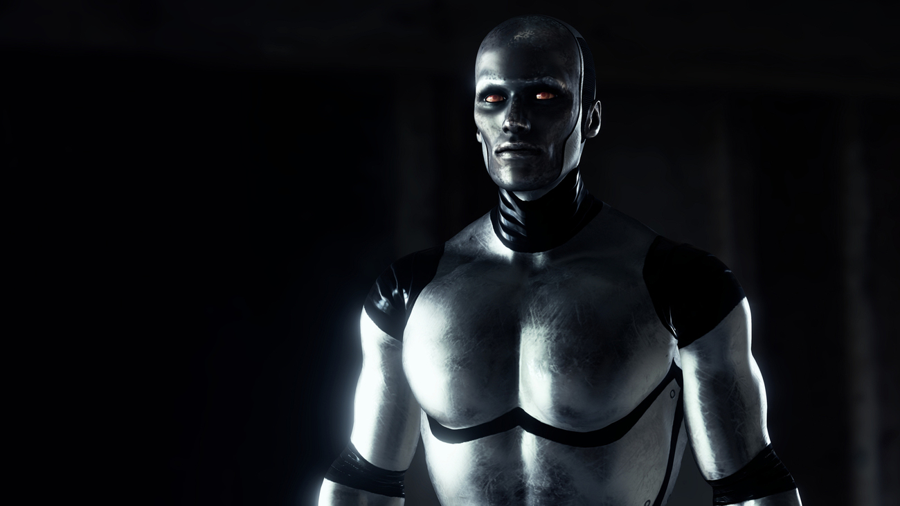 Male Humanoid by Dega3d