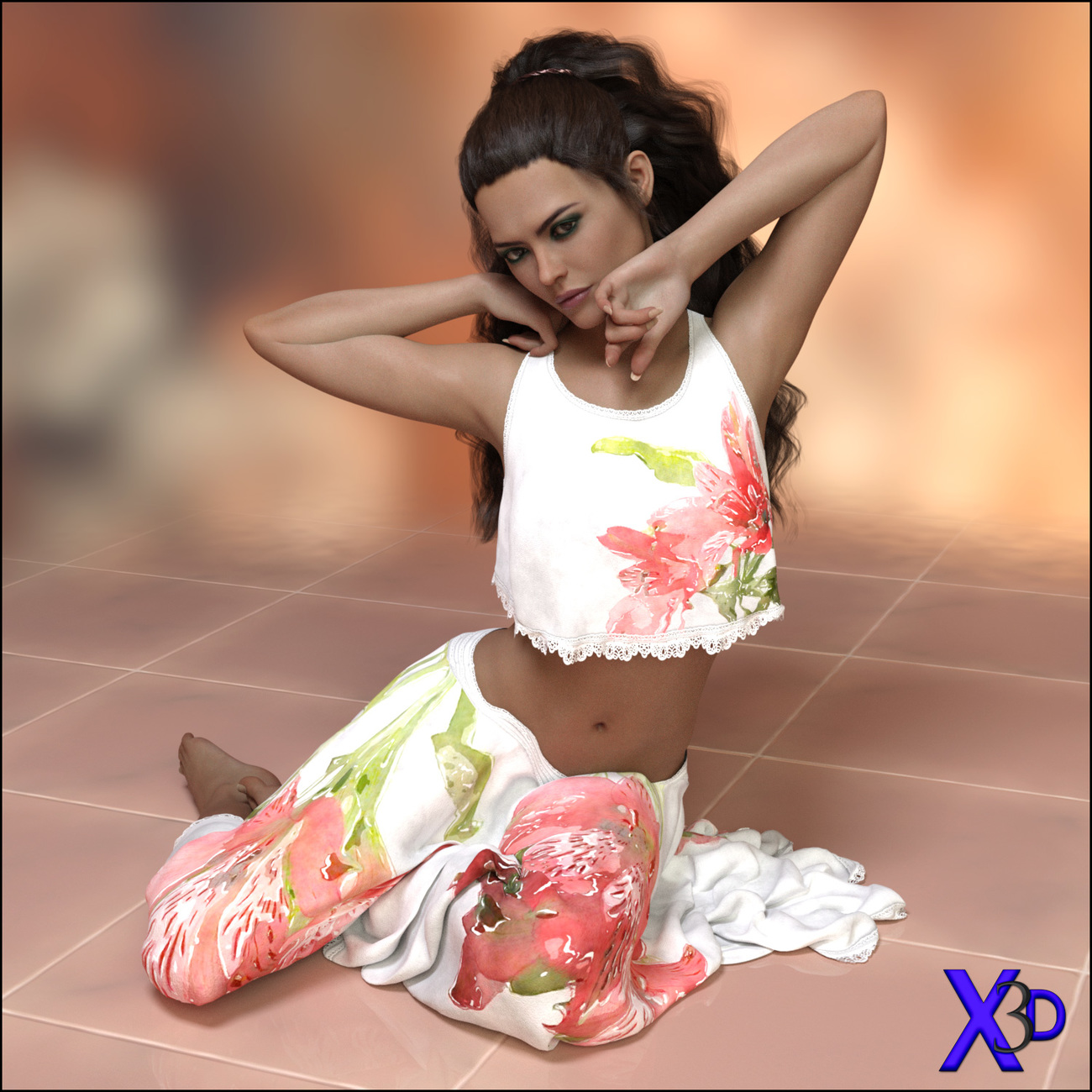 Breezing - Poses for G3F-V7-G8F
