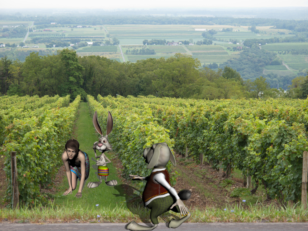 Get out of my vineyard!