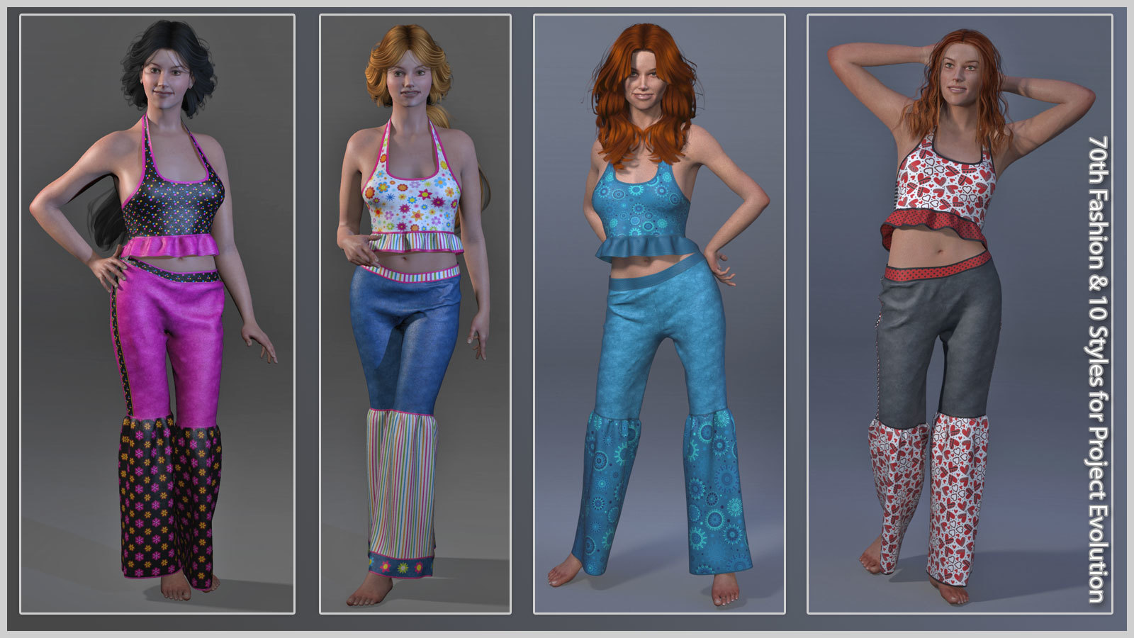 70th Fashion & 10 Styles for PE / LF