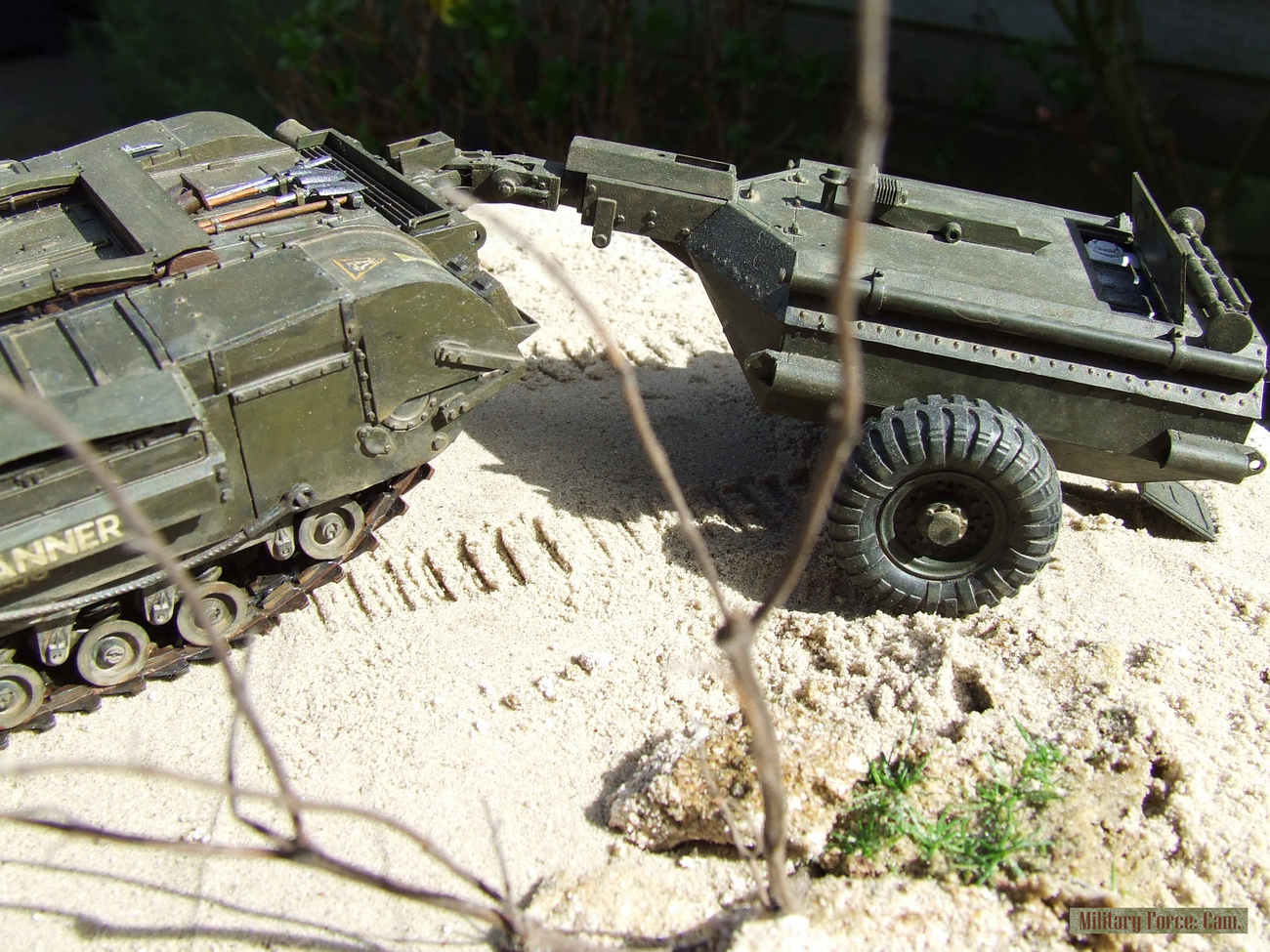 Churchill Crocodile with flame thrower.(7).