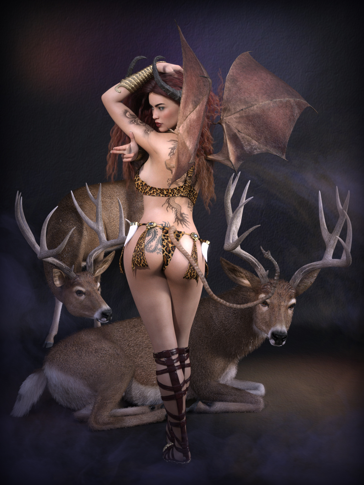 Horns and Antlers