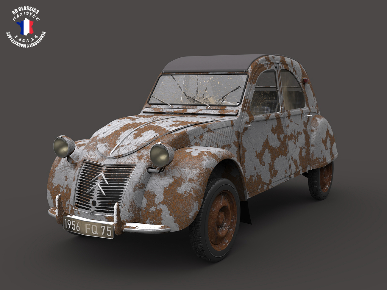 Old Citroen's just keep going.