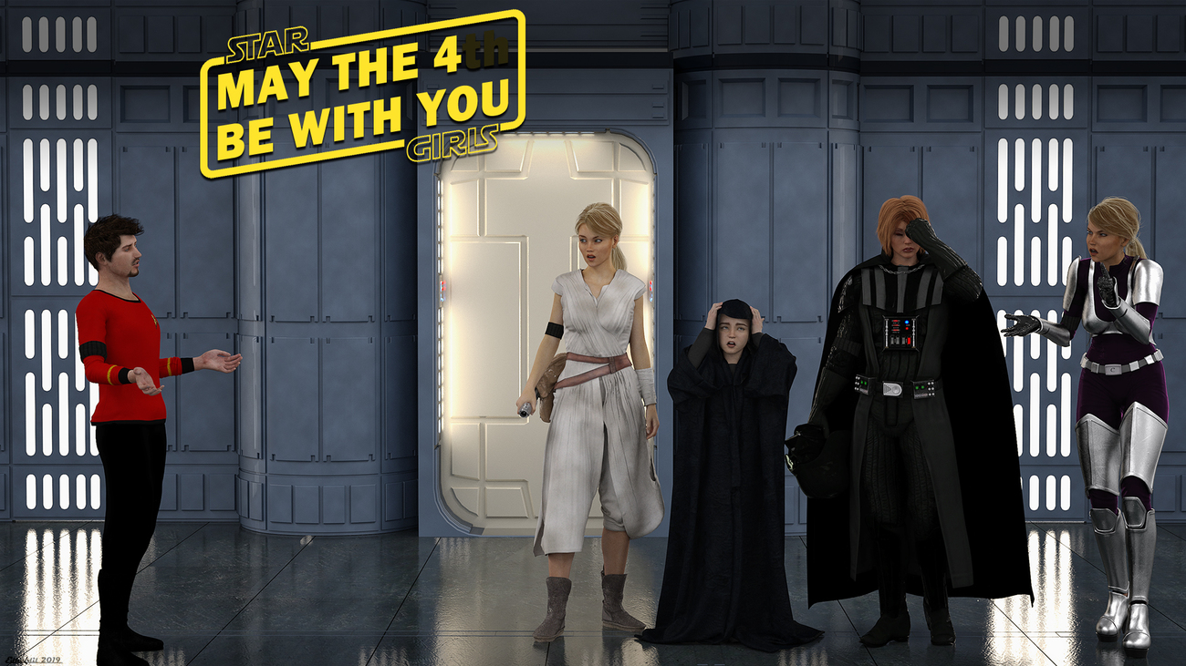 May the 4(th) be with you!!