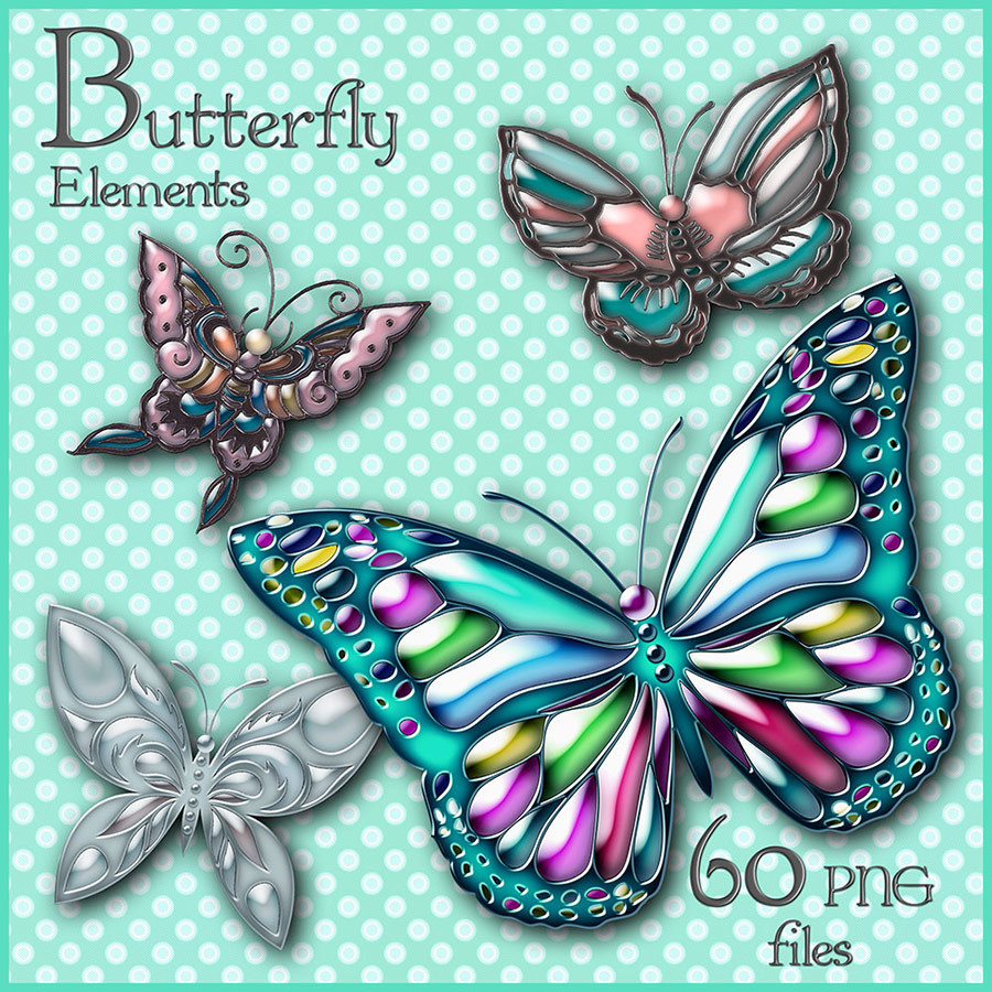 Available Now- Butterfly Elements