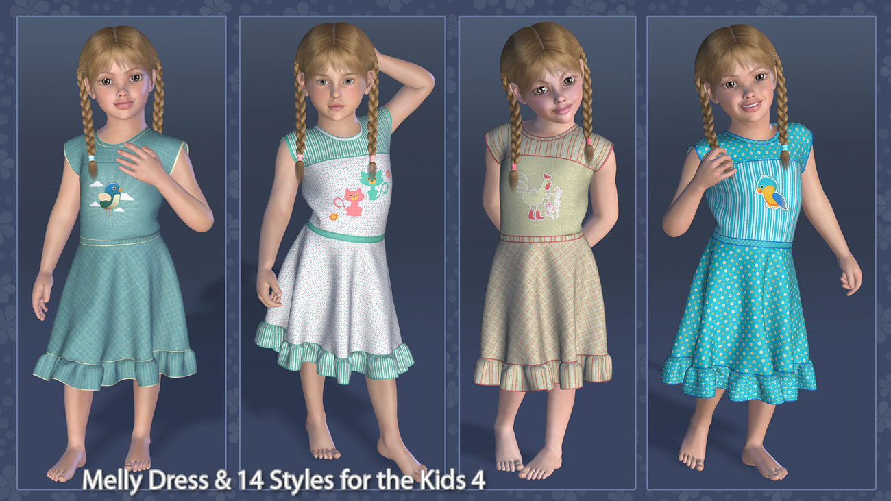 Melly Dress and 14 Styles