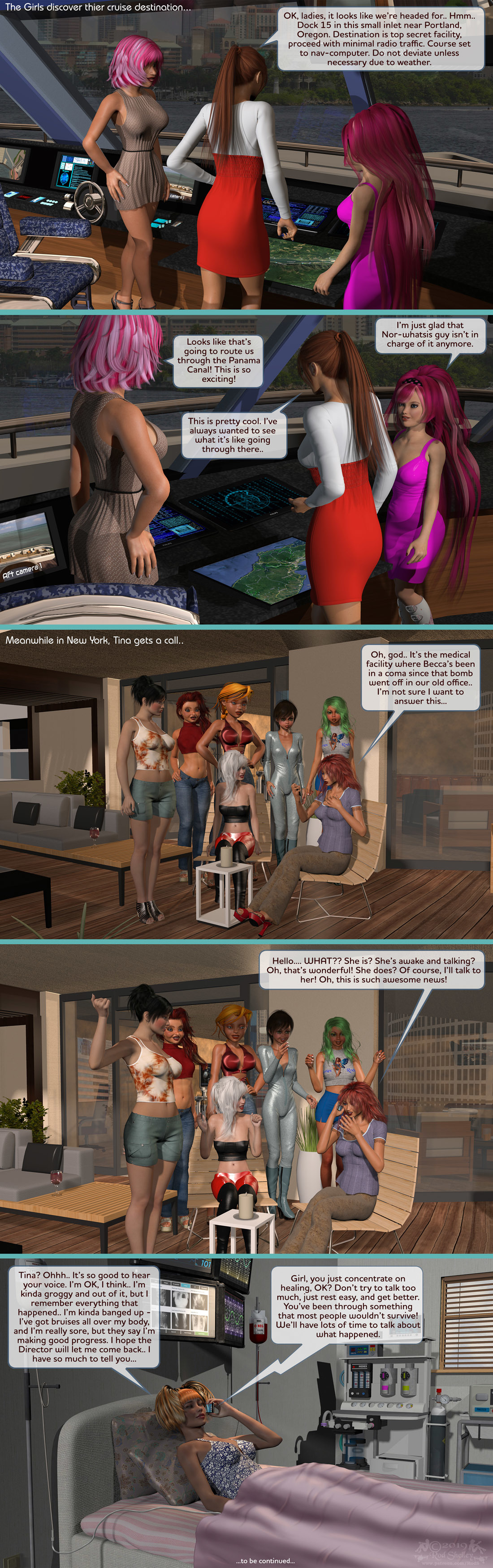 Girls From T.N.A: Breitlenger Jar: Ch 6 Page 38
