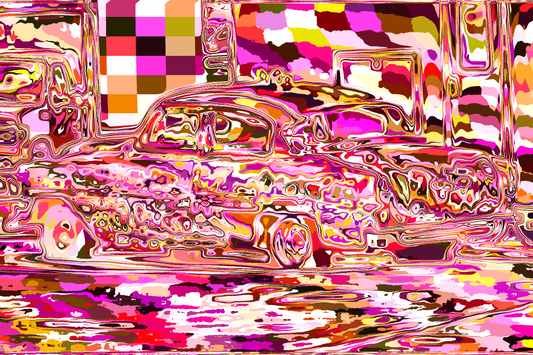 Psychedelic Chevy