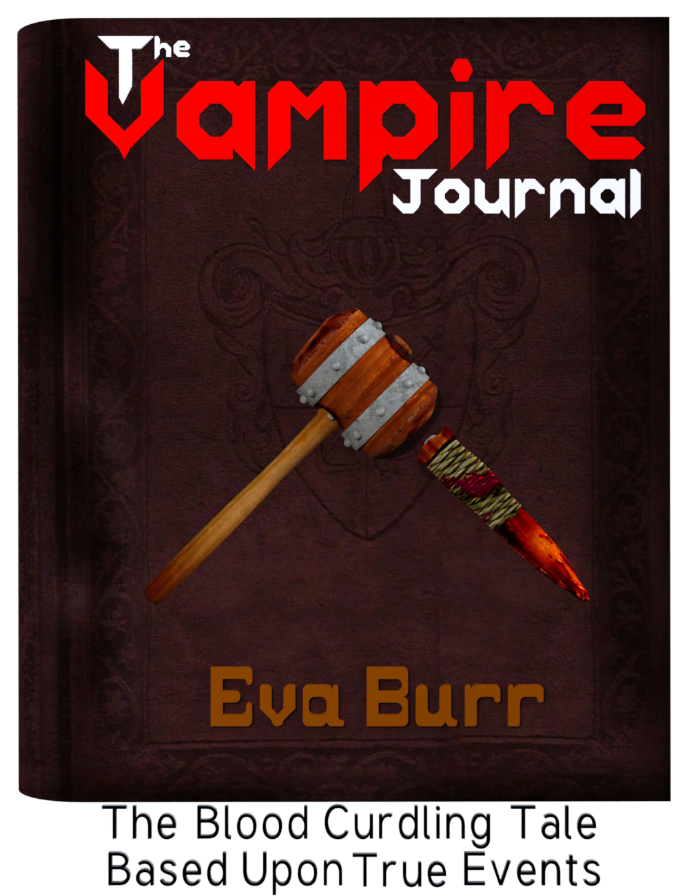 Vampire Journal (Sample 3D Font Book Cover)