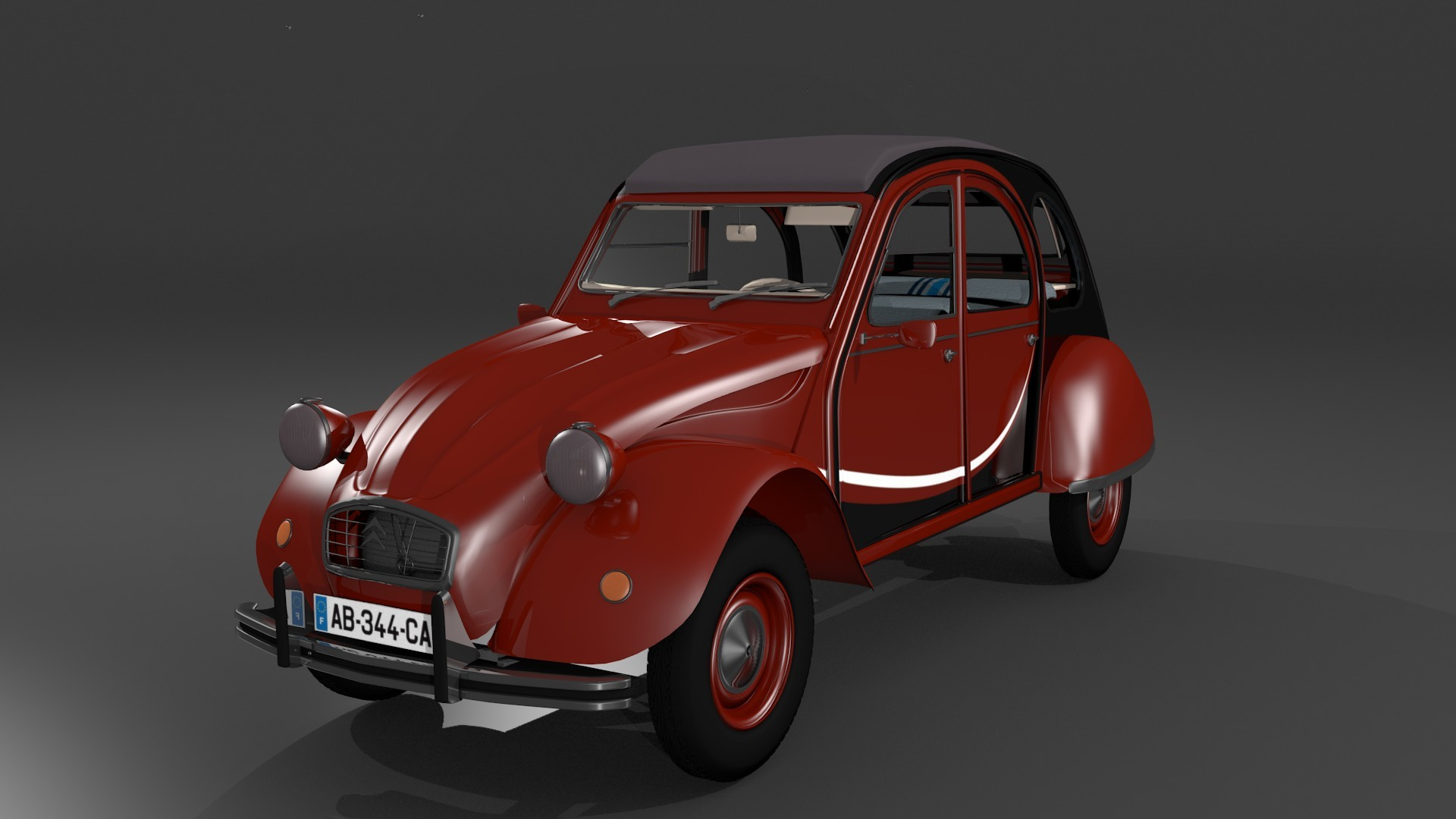 Citroën 2CV 6 - Version Charleston