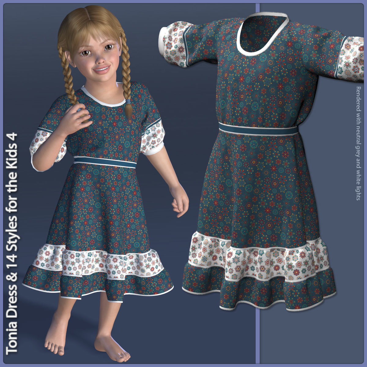 Tonia Dress for the Kids 4
