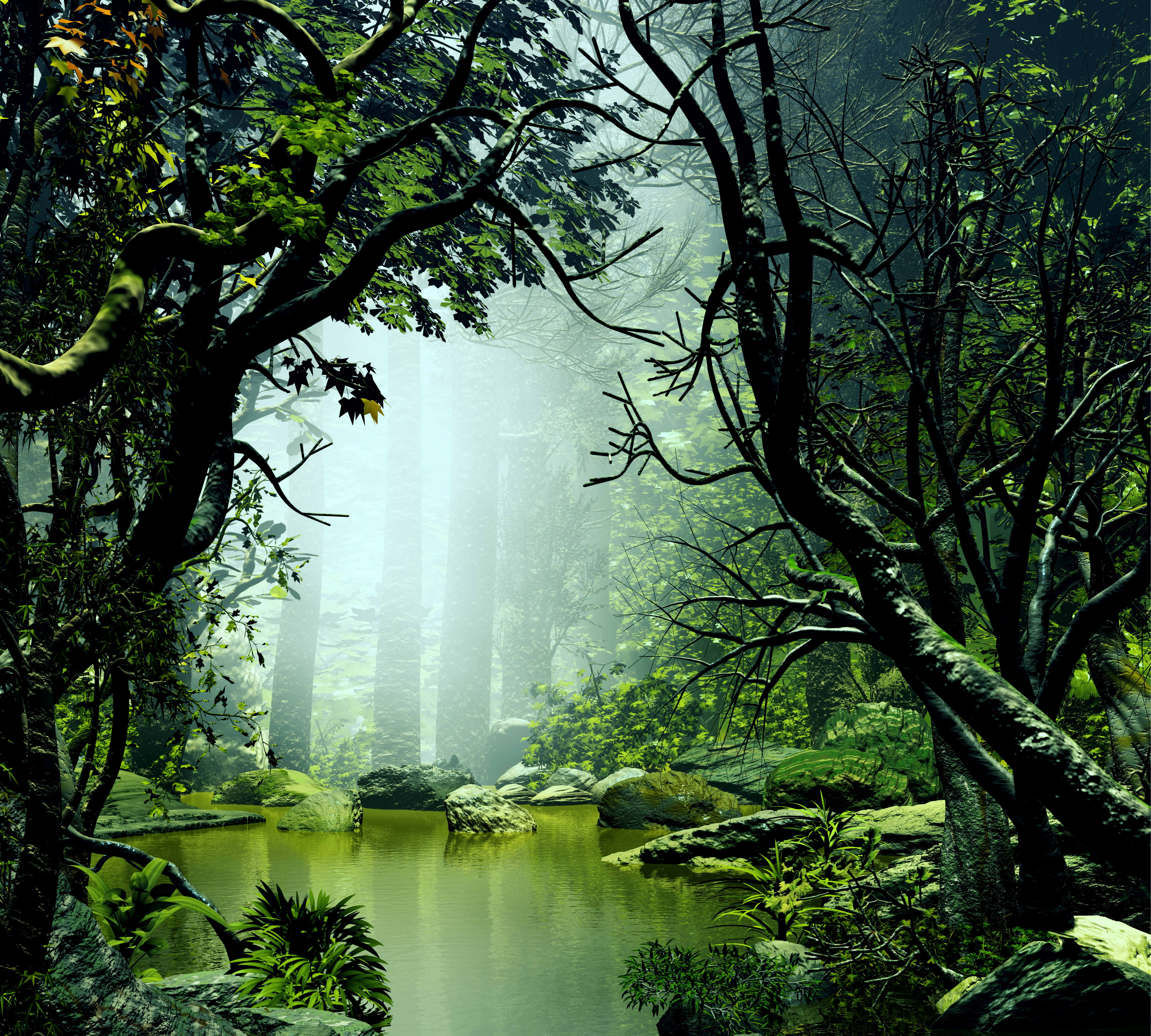 Beautiful and Mysterious