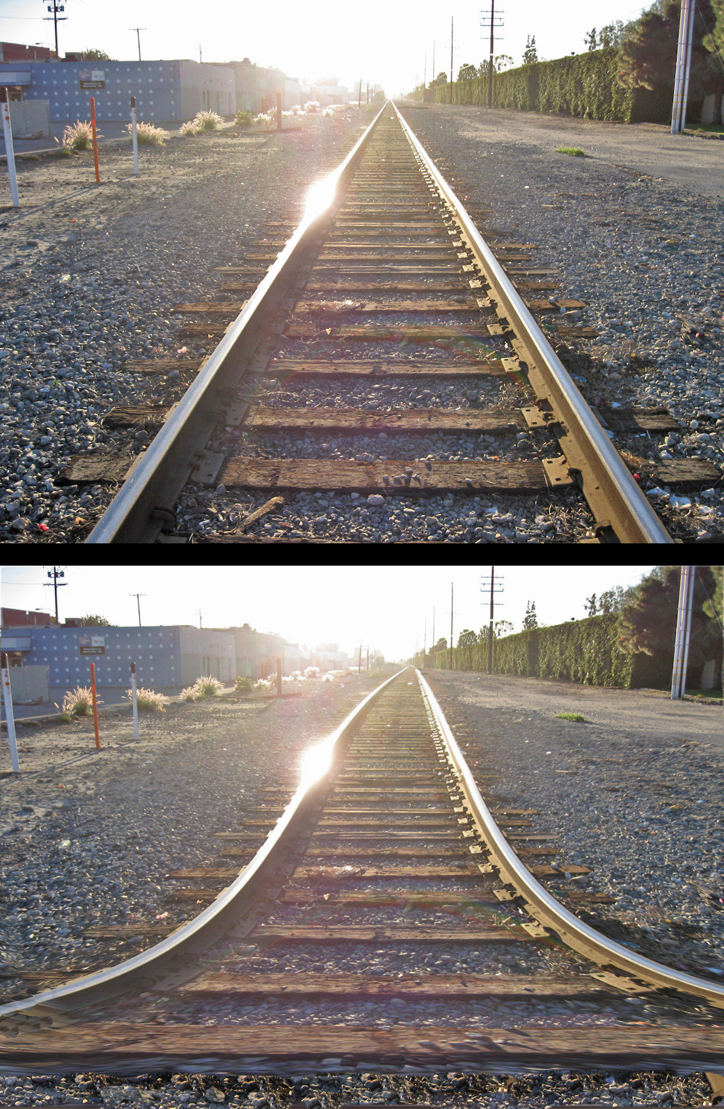 Railroad tracks - with variation