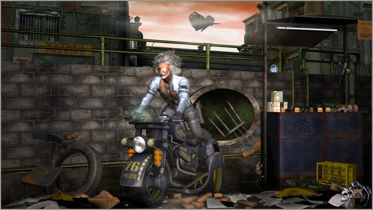The mad old Biker (for styletx)