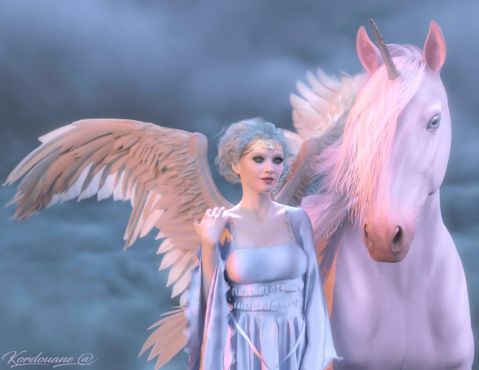 The angel and the unicorn (2)