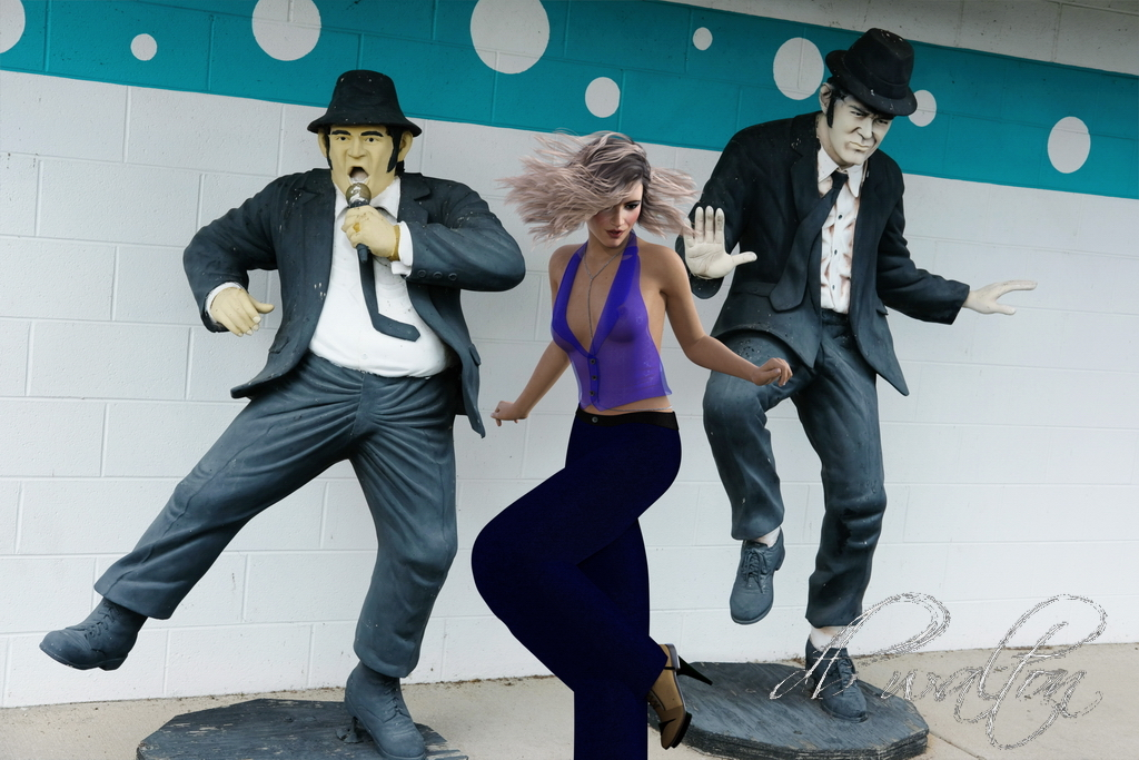 Dancing to the Blues Brothers (PG13)