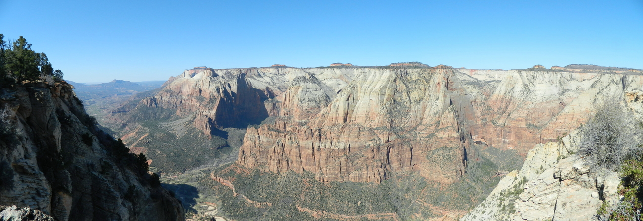 Deer Trap View of Zion National Park