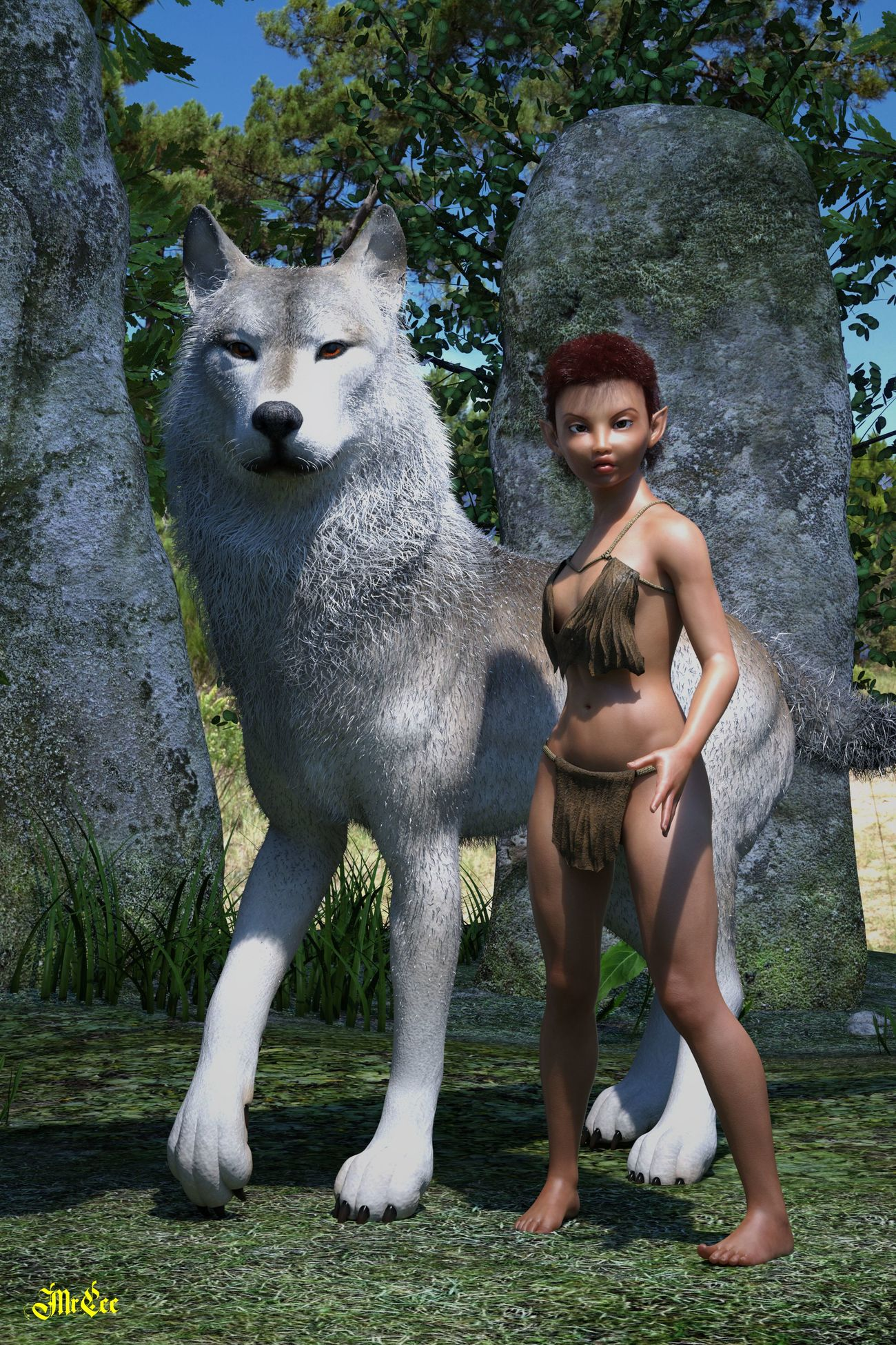 Earth Child and Warg