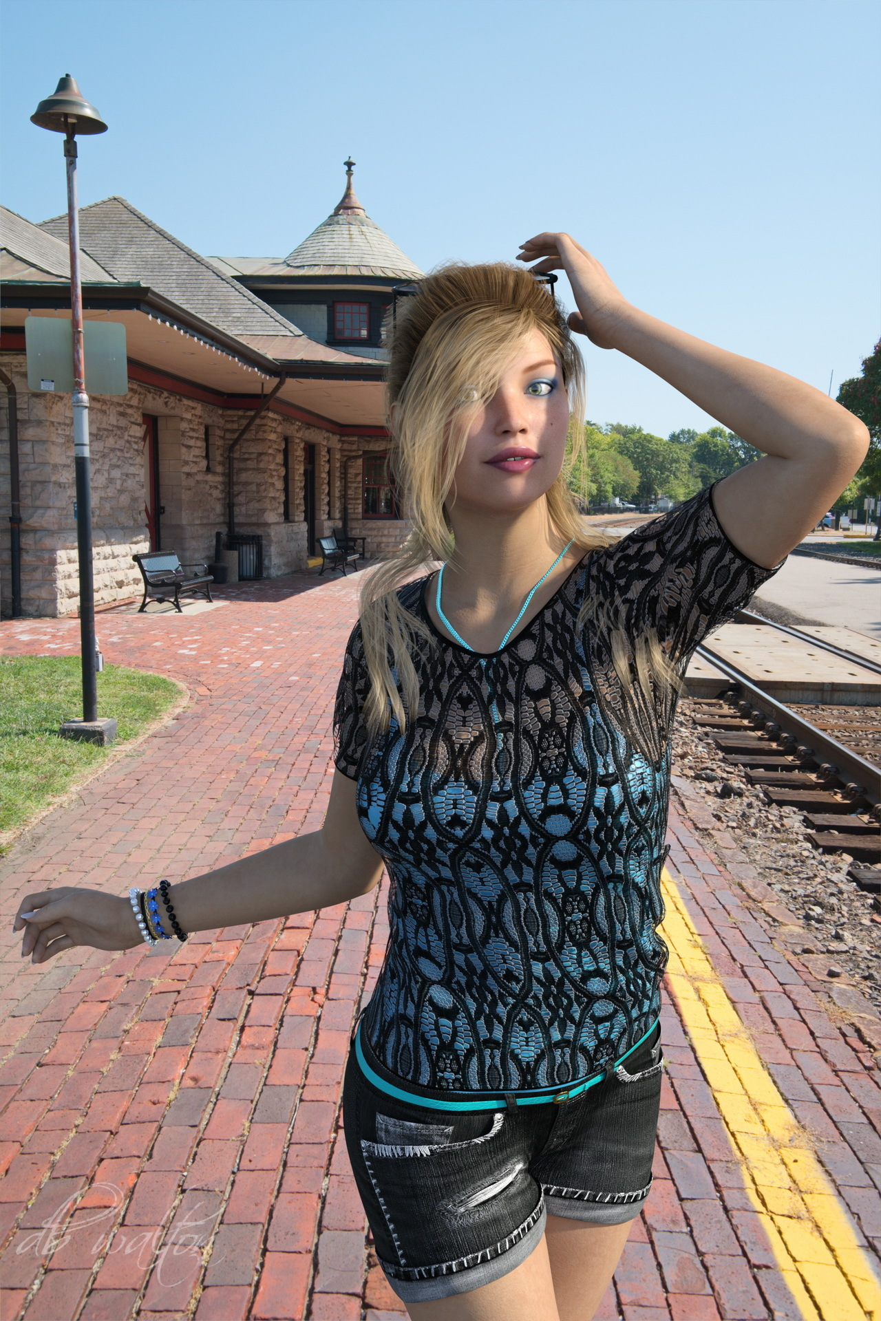 Route 66 and the Kirkwood Train Station with Charl