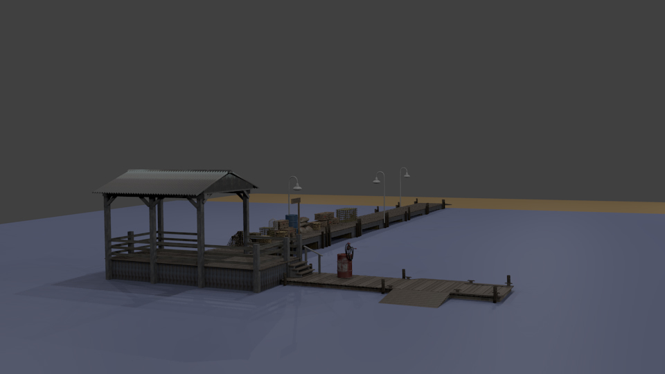 Dock at Boragora WIP