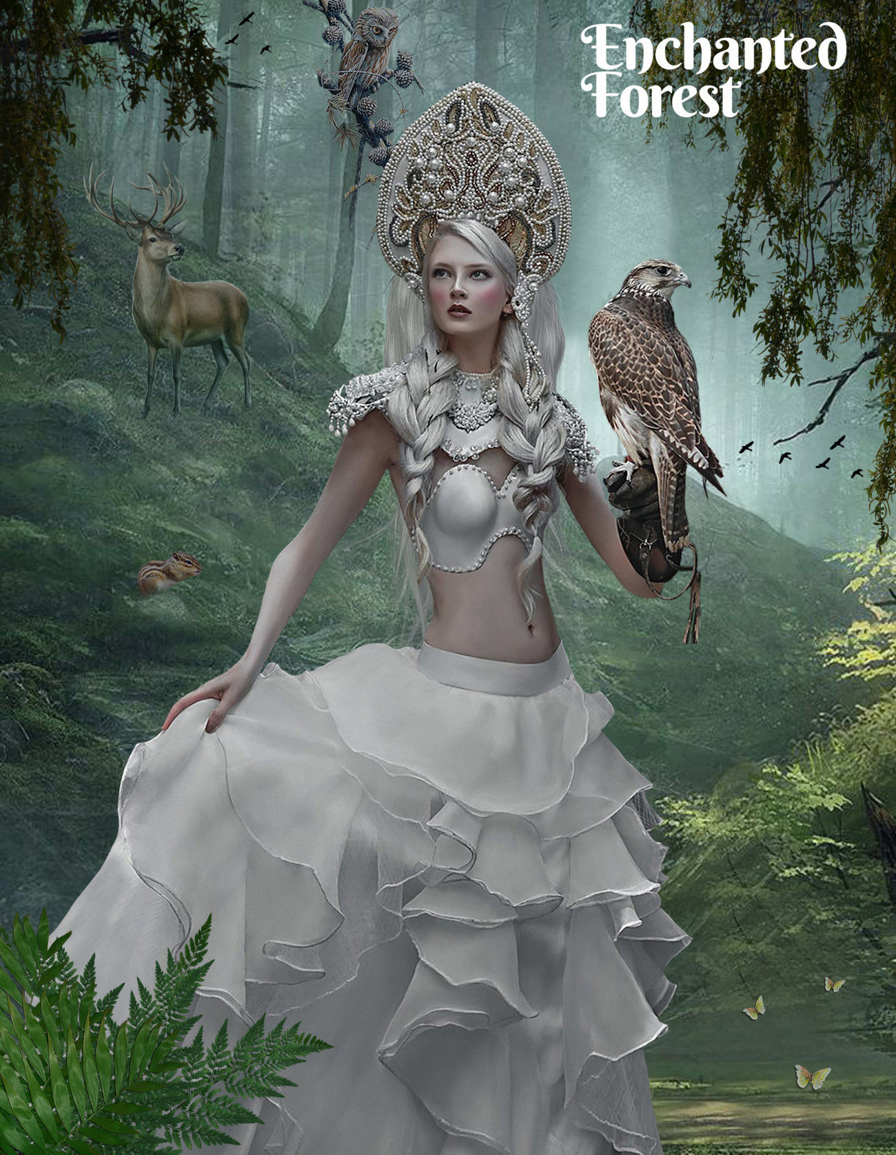 Enchanted Forest. for all my dear friends who love