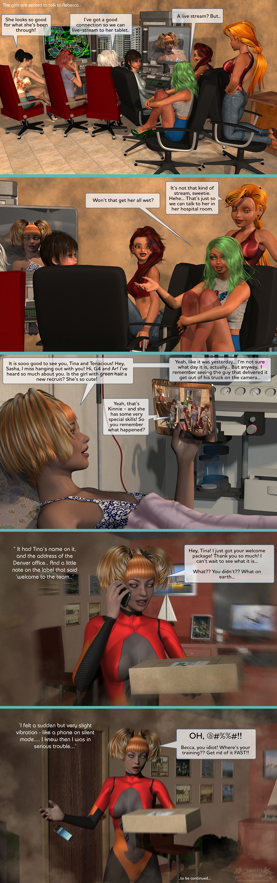 Girls From T.N.A: Breitlenger Jar: Ch 6 Page 39