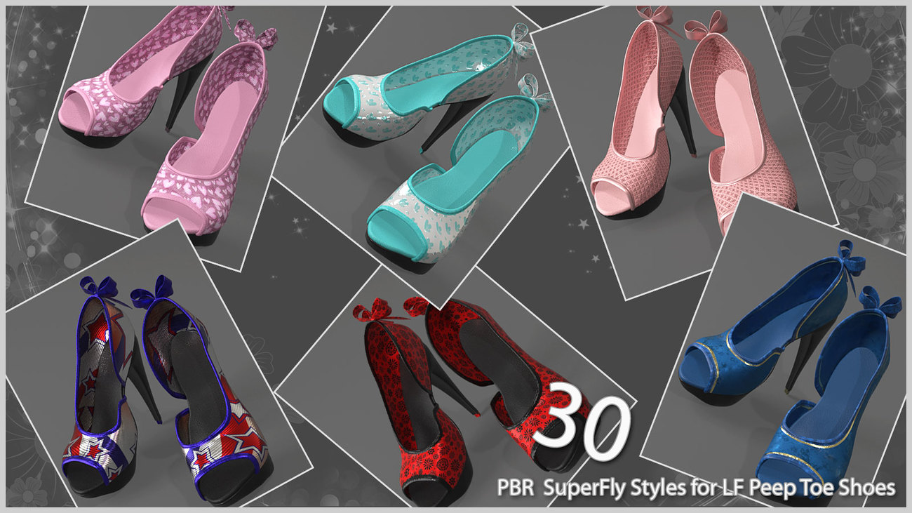 PBR Styles for LF Peep Toe Shoes