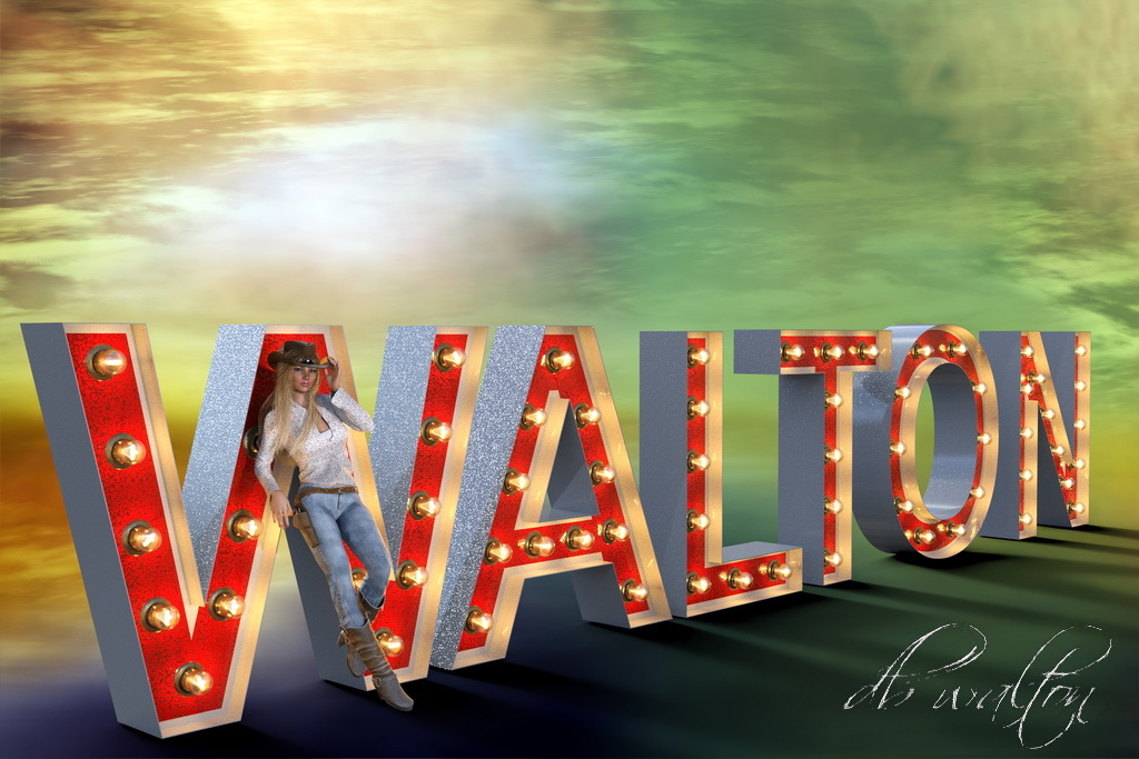 Name Up In LIghts by dbwalton