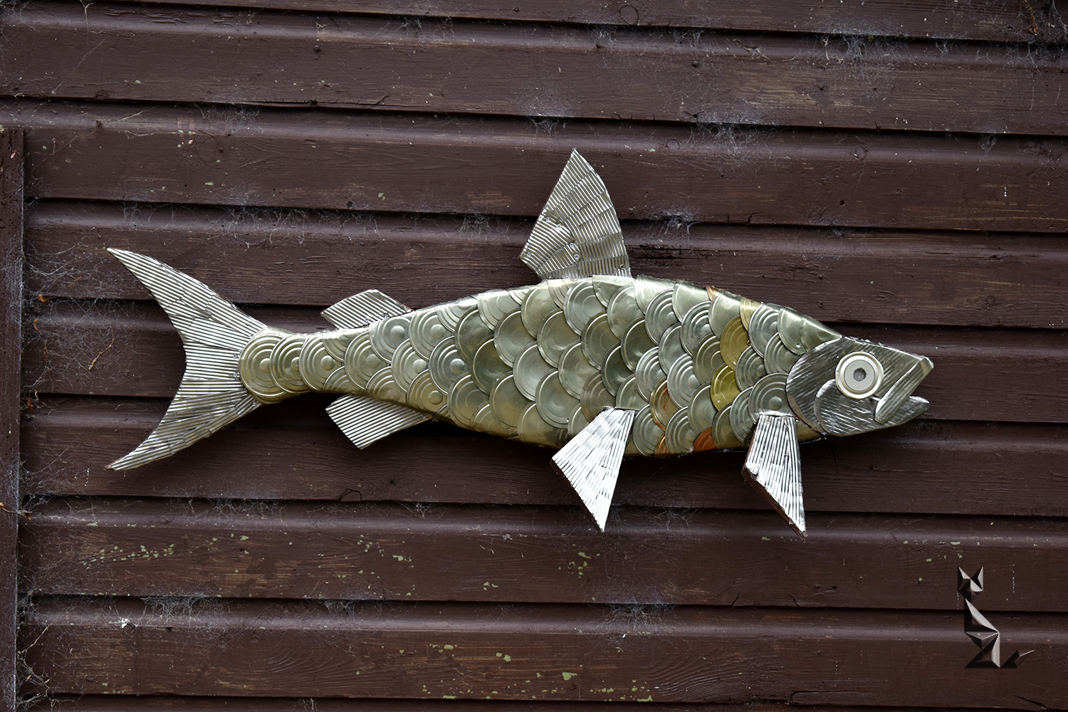 Tinned fish? or maybe a tin fish ...