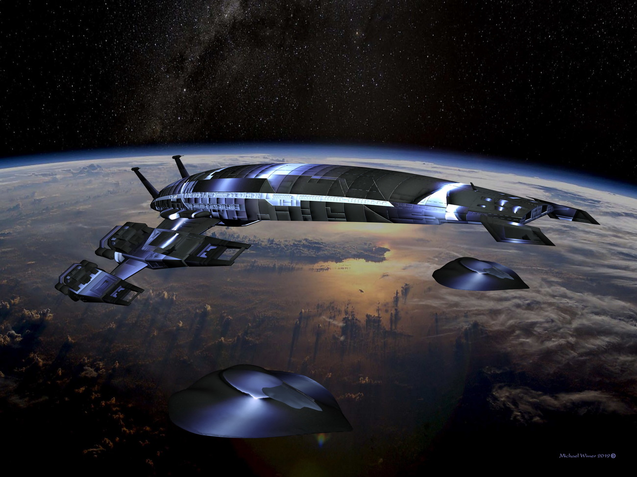 Interstellar Transport with Escorts