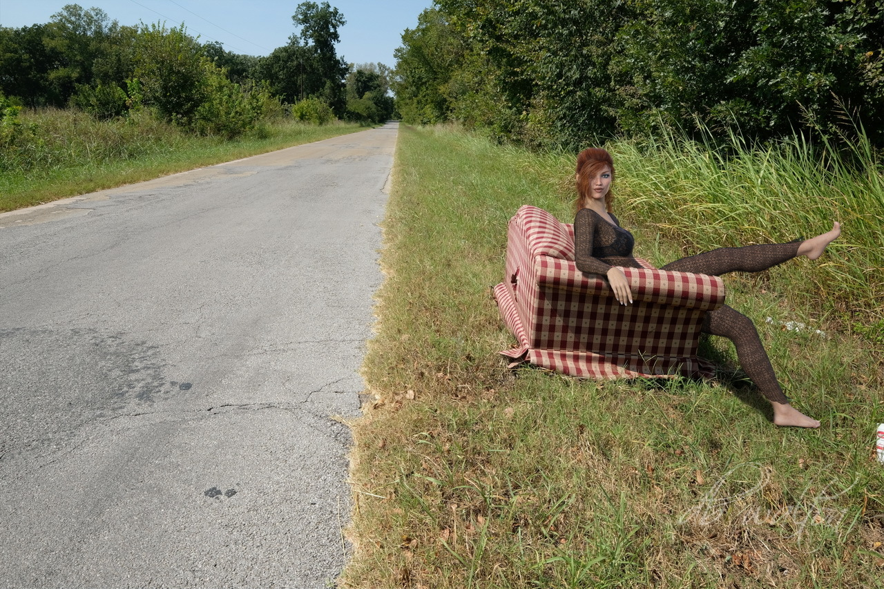 Abandoned Couch on Route 66
