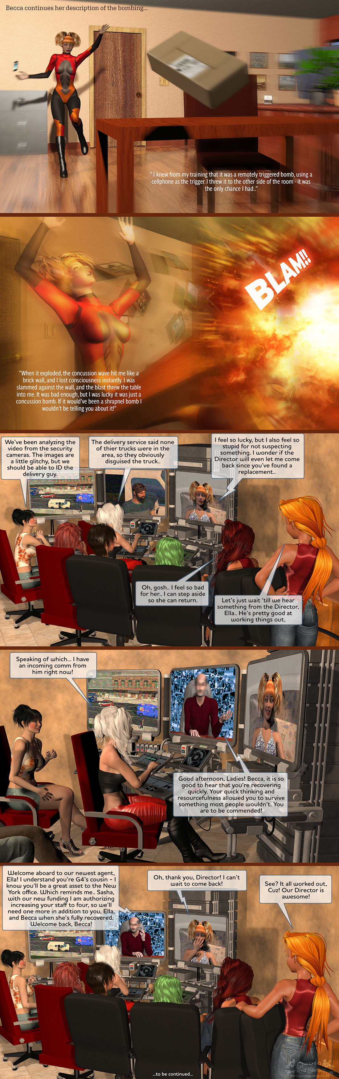 Girls From T.N.A: Breitlenger Jar: Ch 6 Page 40