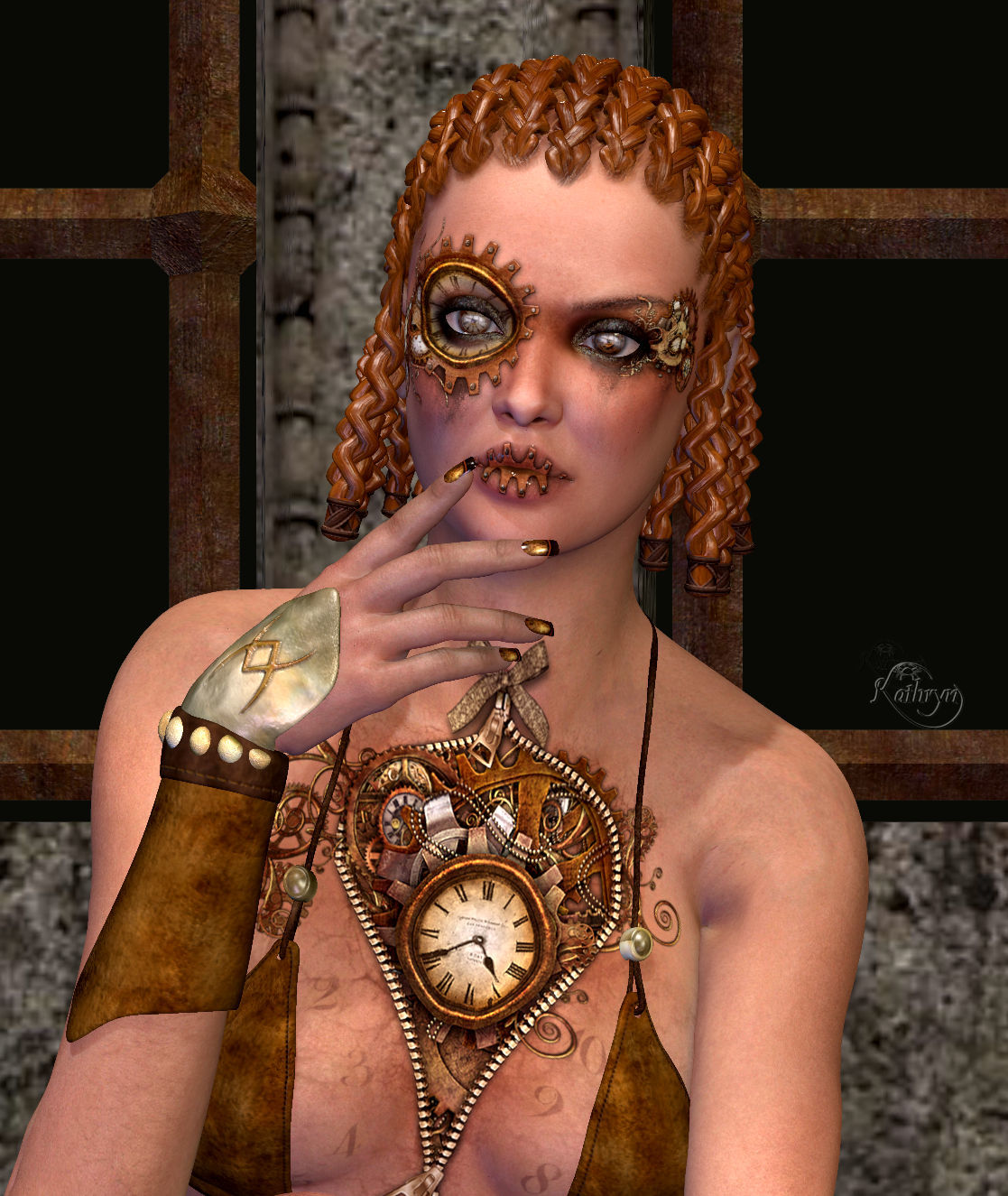 Steam Punk Clarice by TheKatster